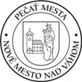 Pečať mesta Nové Mesto nad Váhom