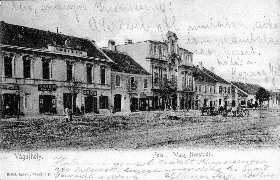História Nové Mesto nad Váhom